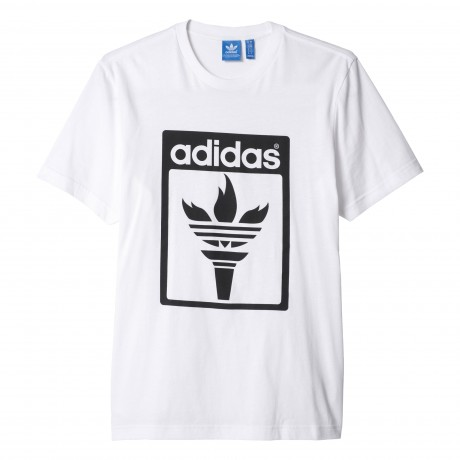 adidas originals - Trefoil Fire Tee