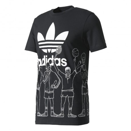 adidas originals - Trefoil Graphic Tee
