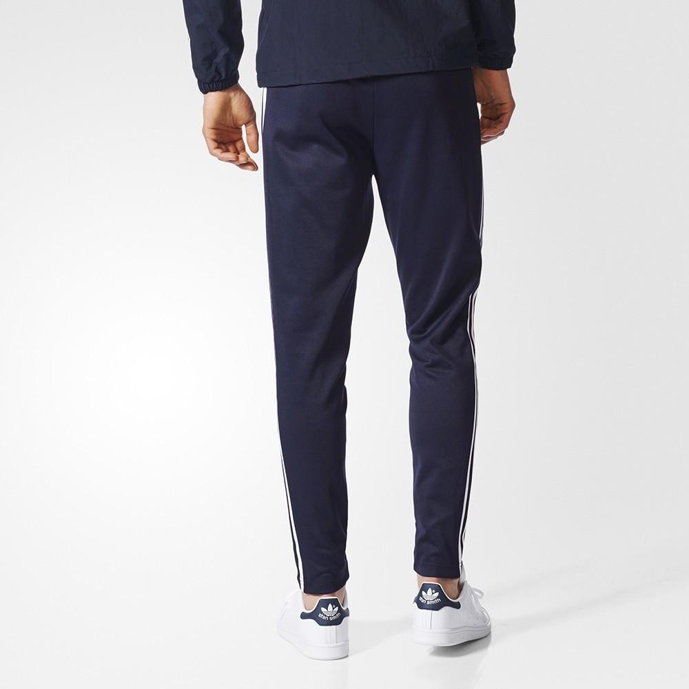 Adidas originals beckenbauer Dobladillo abierto los pantalones de la pista Streetwear