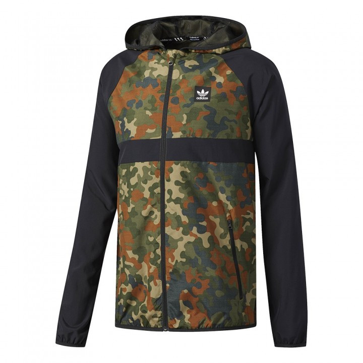 αdidas originals - Allover Print Windbreaker
