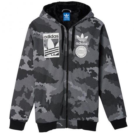 adidas Originals -Graph FZ Sherpa Hoodie