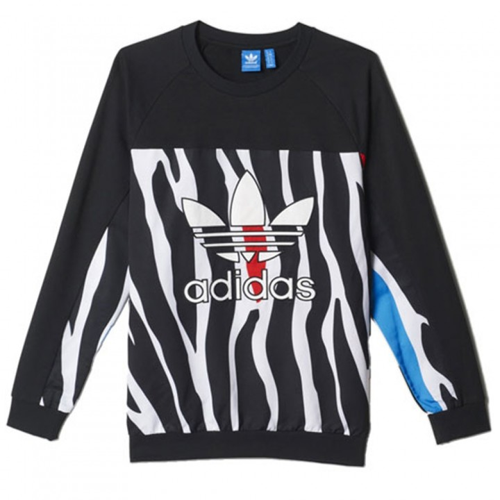 adidas Originals-Zebra  Sweatshirt