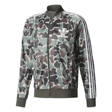adidas originals - Camouflage SST Track Top