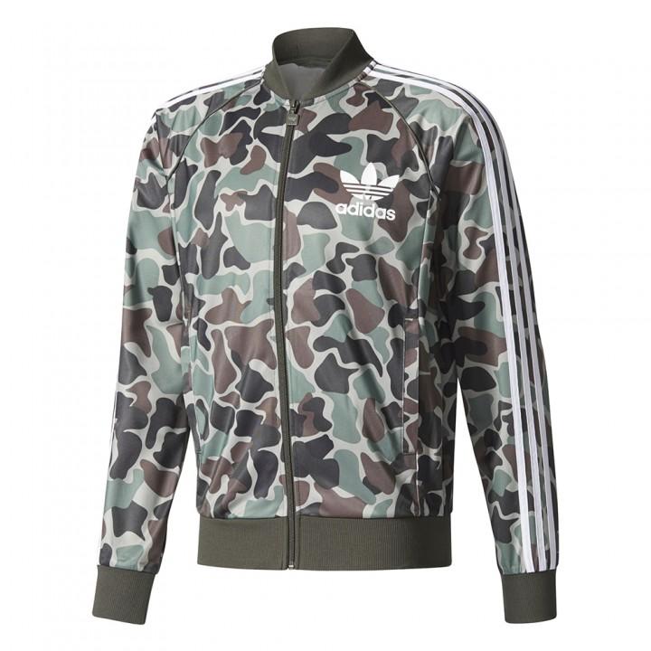 Adidas Originals Camouflage Sst Track Top Streetwear