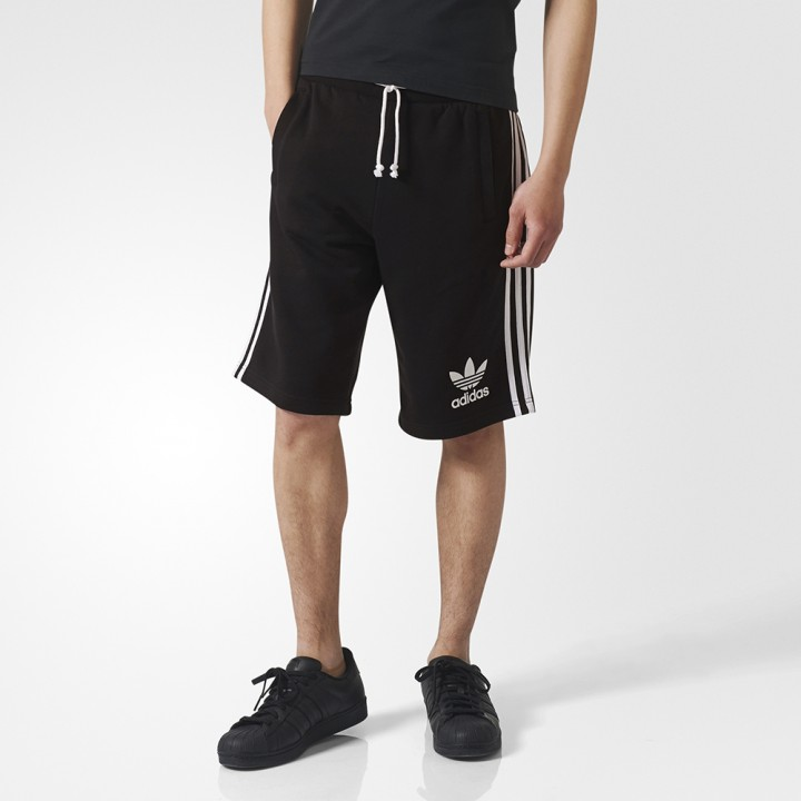 new style 9f99c 6276e adidas originals - 3-Stripes French Terry Shorts ...