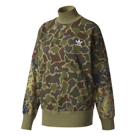 adidas originals - Pharrell Williams Hu Hiking Camo Sweater