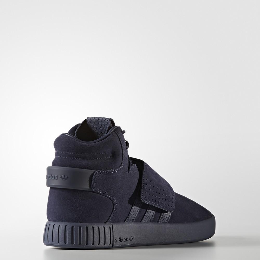 Tubular Invader Strap Shoes Trace Blue