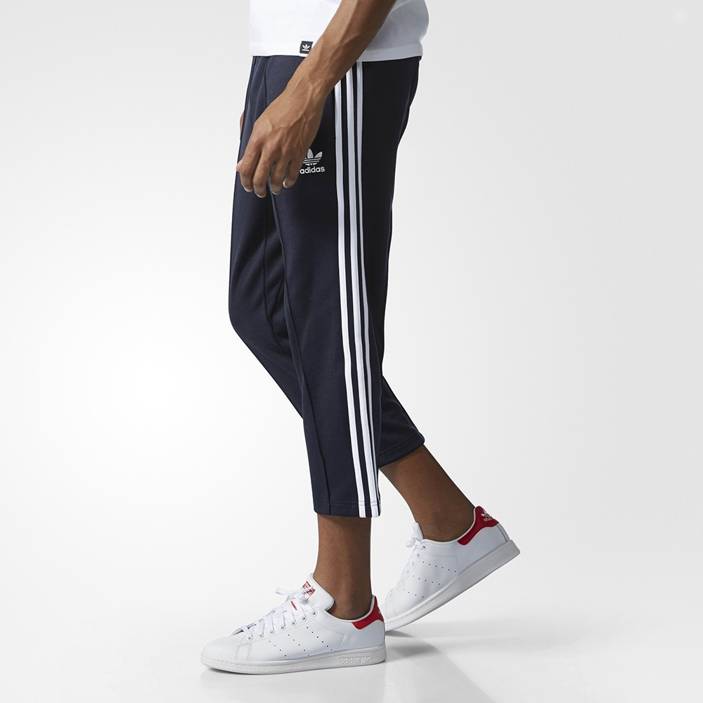 6cade259a5ae adidas originals - SST Relaxed Cropped Track Pants - Streetwear