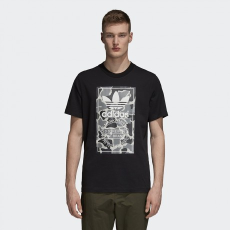 adidas originals - Camouflage Tongue Label Tee
