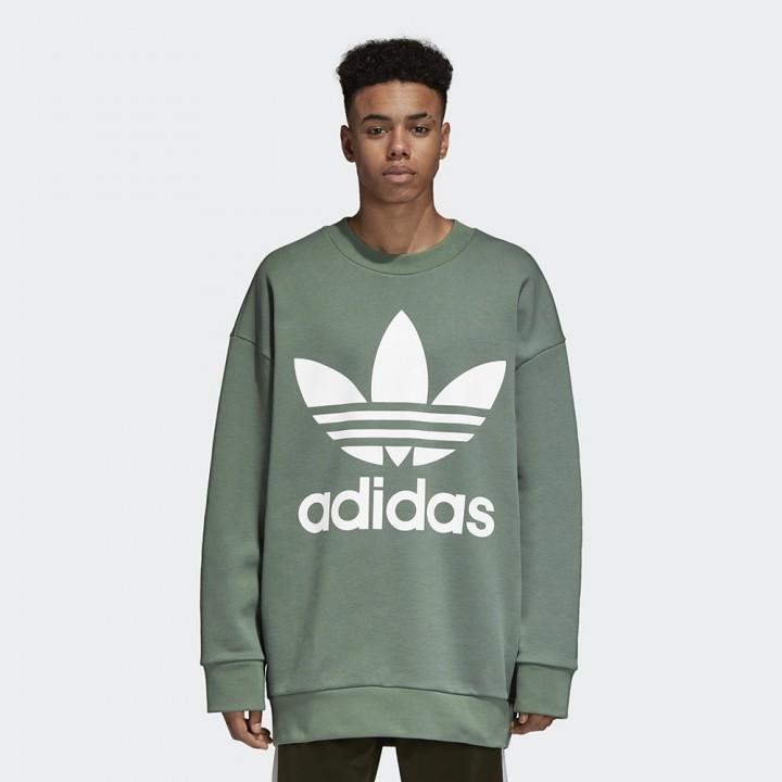244d08145c3d adidas originals - Oversize Trefoil Sweatshirt - Streetwear