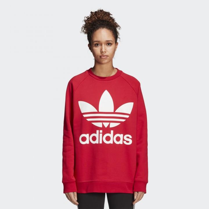 adidas Originals Womens Oversized Sweatshirt Multicolour