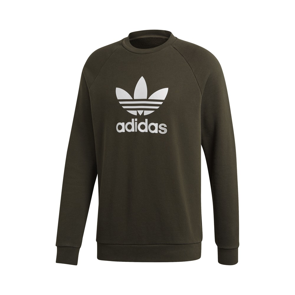9f282c455557 adidas originals - Trefoil Crewneck Sweatshirt - Streetwear