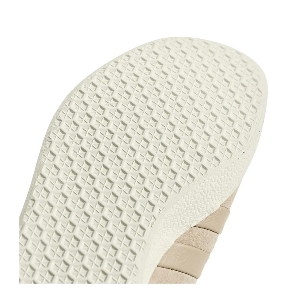 Adidas Originals Gazelle Stitch and Turn Shoes Beige AQ0893