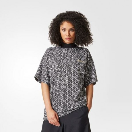 adidas originals - Allover Print Oversize Tee
