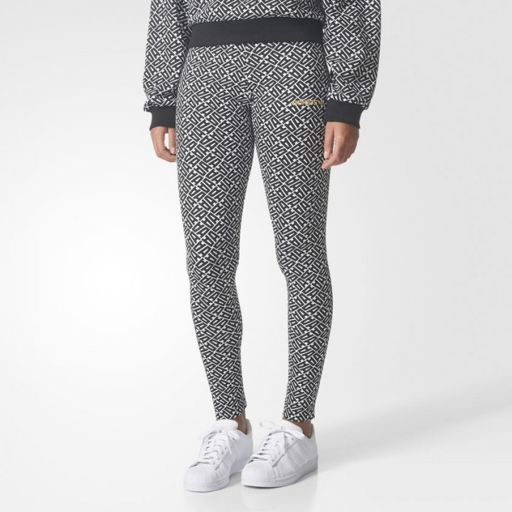 60fd63c7dc33a1 adidas originals - Allover Print Leggings - Streetwear