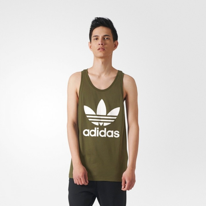 outlet store 1797c 96525 adidas originals - Trefoil Tank Top
