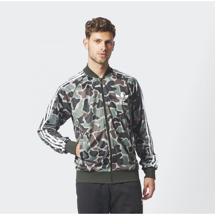 8d48b4768a10 adidas originals - Camouflage SST Track Top - Streetwear