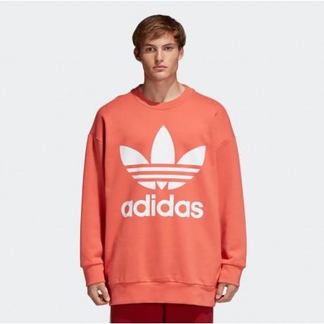 adidas originals - Trefoil Oversize Crew Sweatshirt