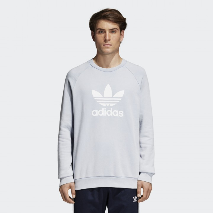 a2bba8326203 adidas originals - Trefoil Warm-Up Crew Sweatshirt - Streetwear