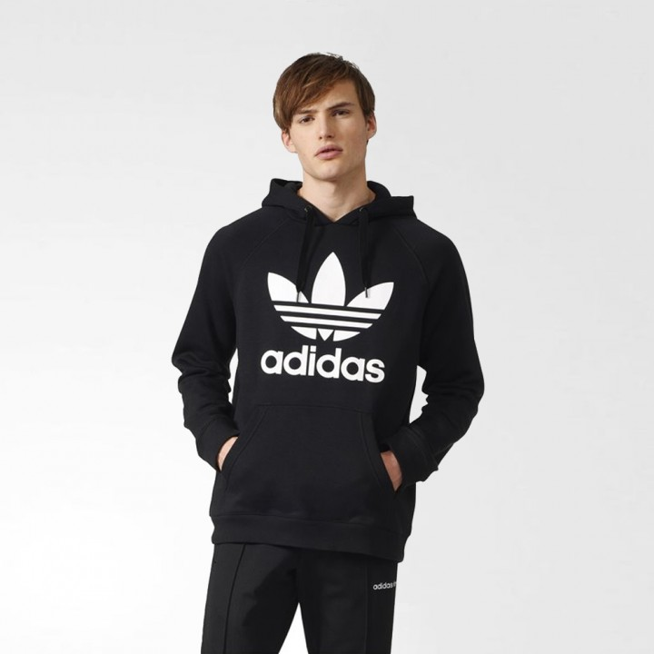 adidas Original 3Foil Hood Medium Grey Heather White