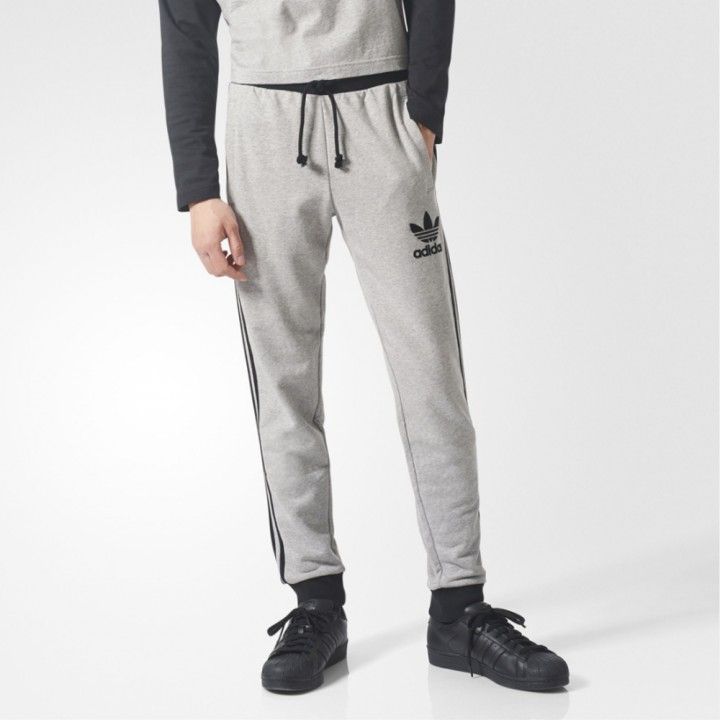 adidas originals 3 Stripes French Terry Sweat Pants Streetwear