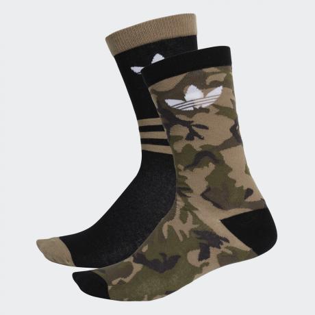 adidas Originals - Camouflage Crew Socks 2 Pairs