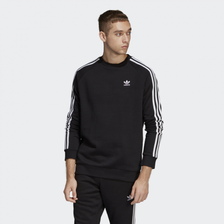 adidas Originals - 3-Stripes Crewneck Sweatshirt