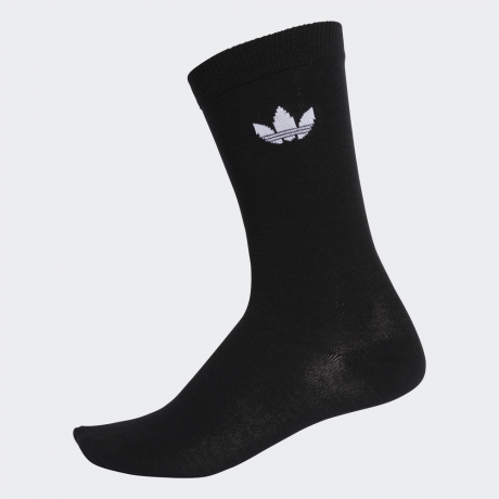 adidas Originals - Thin Trefoil Crew Socks 2 Pairs