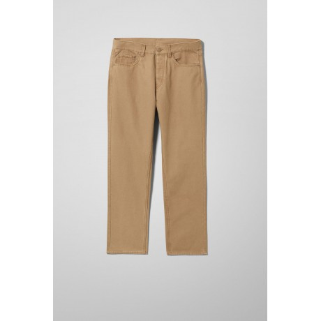 Weekday - Vacant Cropped Canvas Trousers