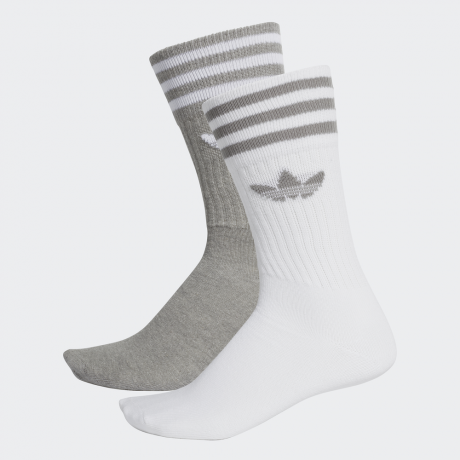 adidas Originals – Solid Crew Socks 2 Pairs