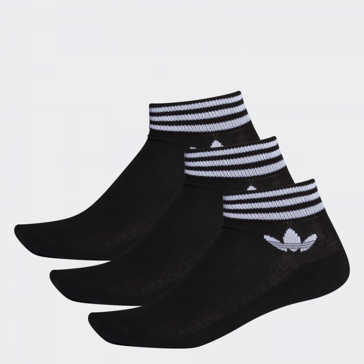 on wholesale classic style fast delivery adidas Originals - Trefoil Ankle Socks 3 Pairs