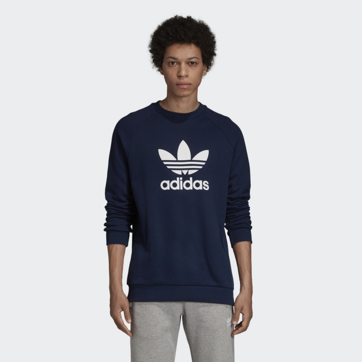 Up Warm Trefoil Crew Originals Adidas Sweatshirt O80wkXnNP