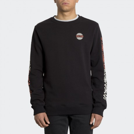 Volcom - RELOAD SWEATER BLACK