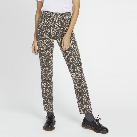 Volcom - SUPER STONED SKINNY ANIMAL PRINT