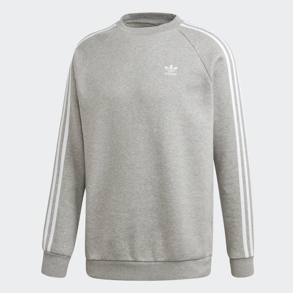 adidas Originals 3 Stripes Crewneck Sweatshirt Streetwear