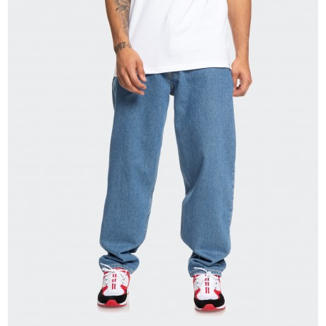DC - WORKER RELAXED FIT TAPERED JEANS