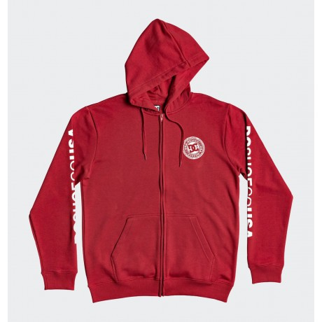 DC - CIRCLE STAR ZIP-UP HOODIE