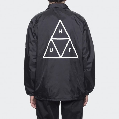 HUF - TRIPLE TRIANGLE COACHES JACKET BLACK