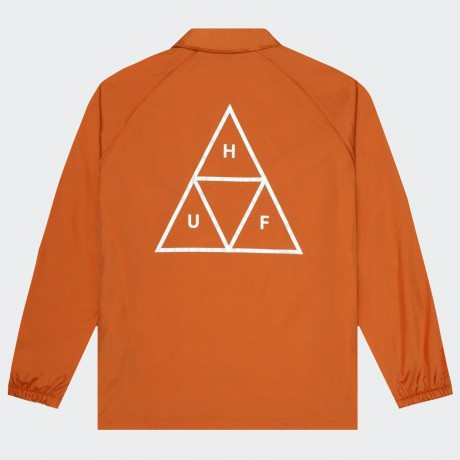 HUF - TRIPLE TRIANGLE COACHES JACKET RUST