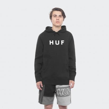 HUF - OG LOGO PULLOVER HOODIE BLACK