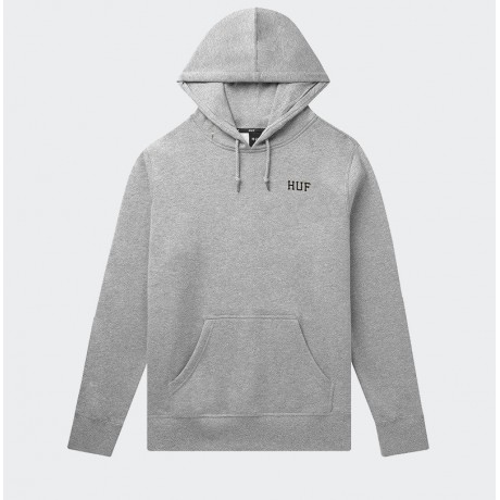 HUF - DYSTOPIA CLASSIC H PULLOVER HOODIE HEATHER GREY