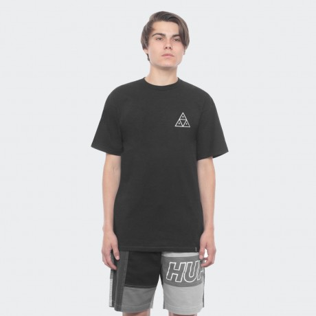 HUF - TRIPLE TRIANGLE TEE BLACK