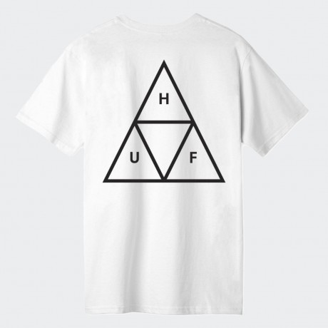HUF - TRIPLE TRIANGLE TEE WHITE