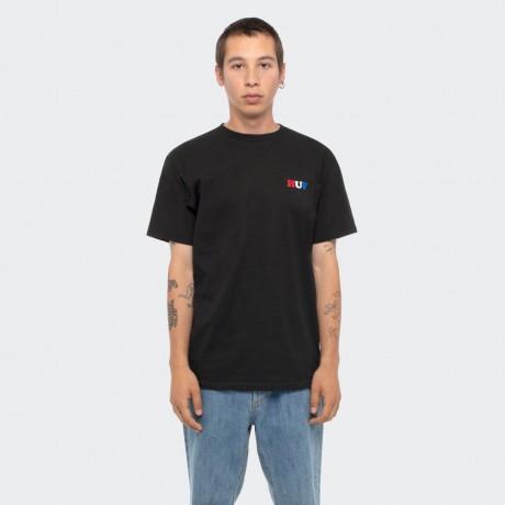 HUF - BUMMER USA T-SHIRT BLACK