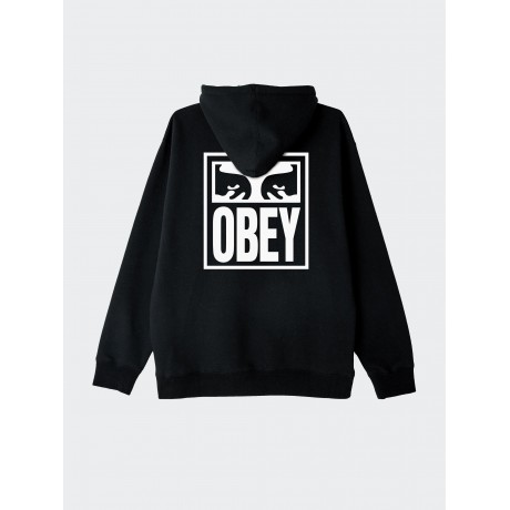 OBEY - Eyes Icon Box Fit Hood Black