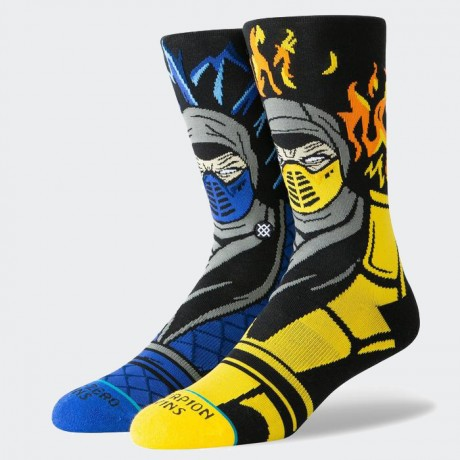 STANCE - SUB ZERO VS SCORPION BLACK