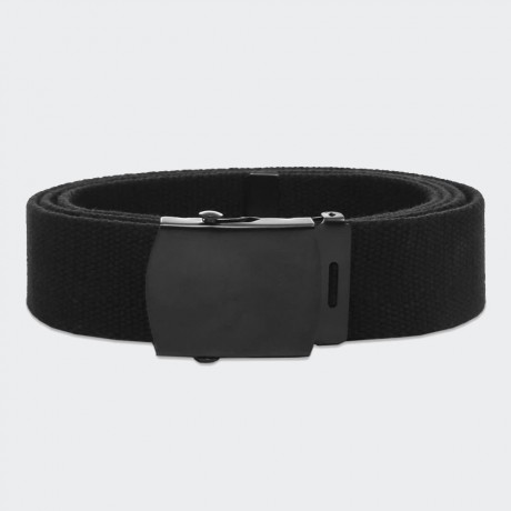 EDWIN - Webbing Belt Black