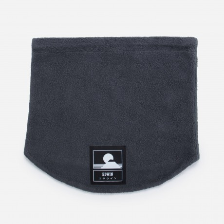 EDWIN - Neck Warmer Ebony