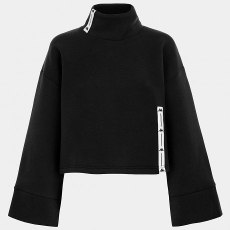Kappa - AUTHENTIC JPN BAWRI FLEECE BLACK