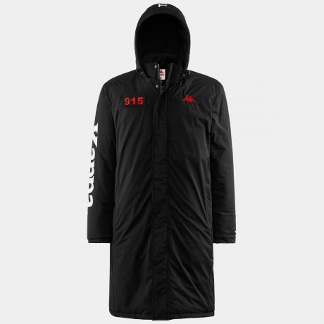 Kappa - AUTHENTIC LA BRELY JACKET BLACK